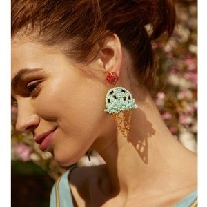 NWT Anthropologie baublebar Icecream 🍦 earrings